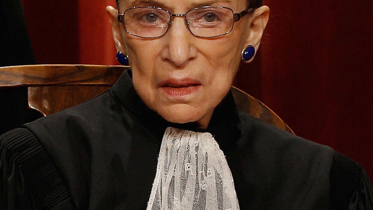 Justice Ruth Bader Ginsburg out of hospital 'doing well ...  |Ruth Bader Ginsburg