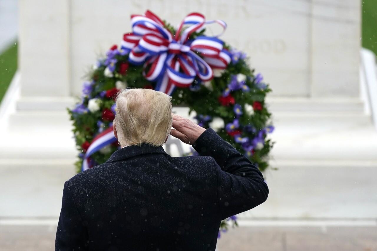President Trump forces Arlington National Cemetery to host wreath ceremony despite coronavirus concerns