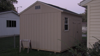 Second shed built for Michael Smith