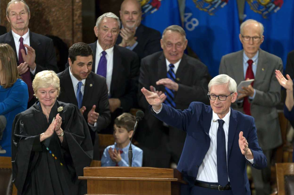 Wisconsin Gov. Tony Evers opposes the GOP tax plan