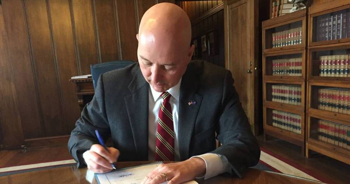 Gov. Ricketts submits request for Federal Disaster Assistance