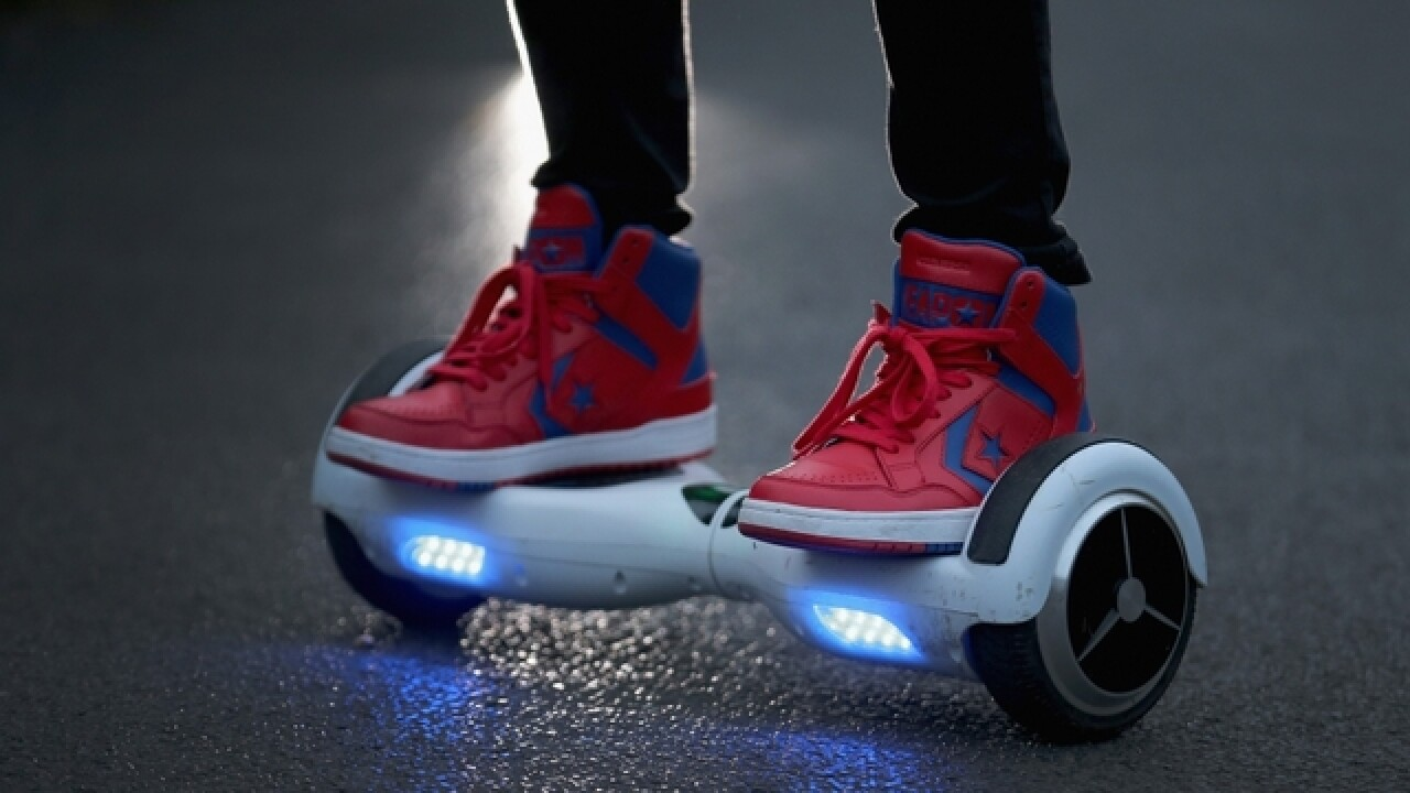 Riders take a beating from 'hoverboards'