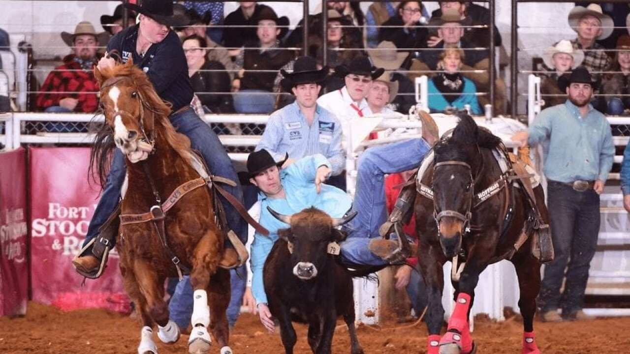Belgrade's Josh Clark splits win at prestigious Fort Worth Rodeo