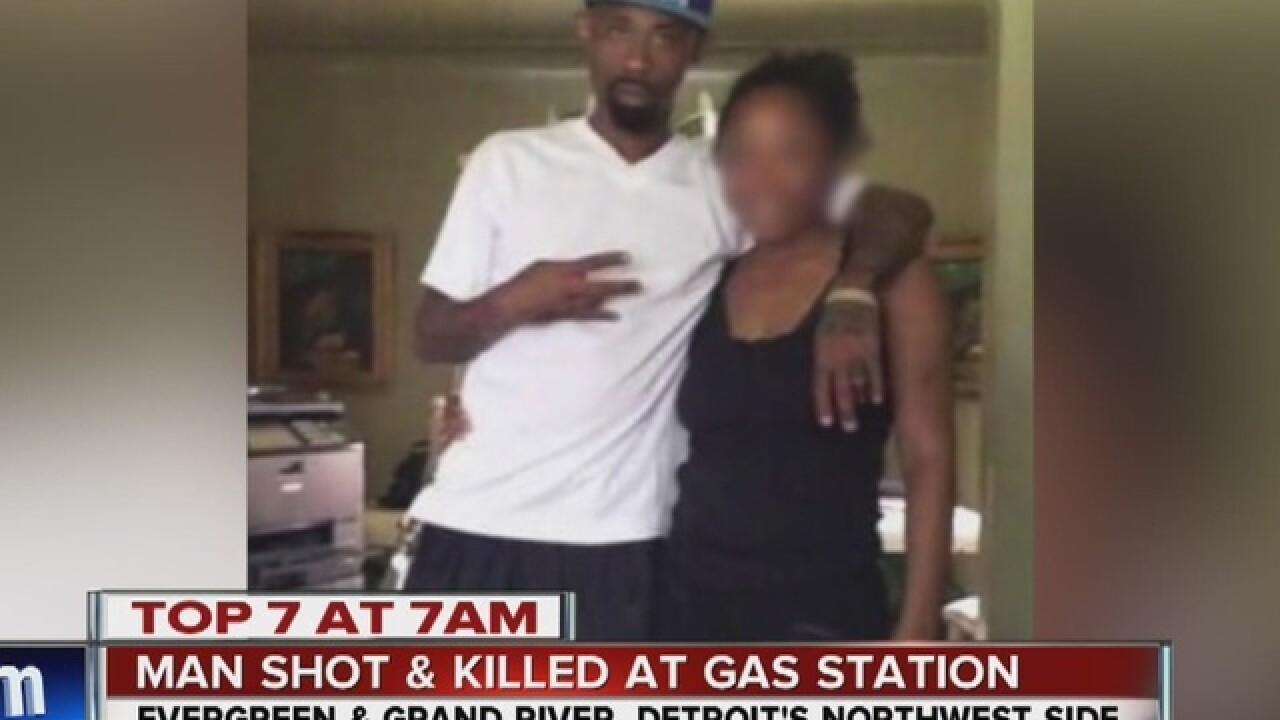 Man shot, killed at gas station in Detroit