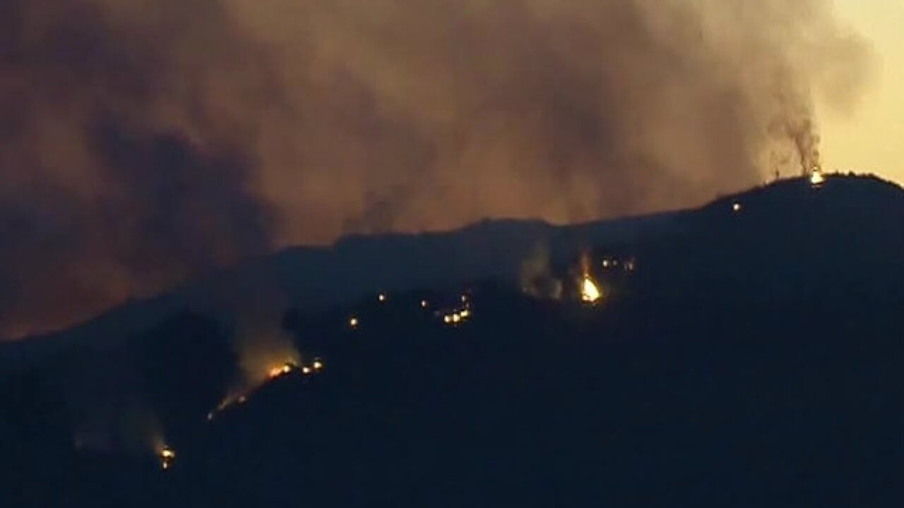 Holy Fire chars 4,000 acres, forces evacuations