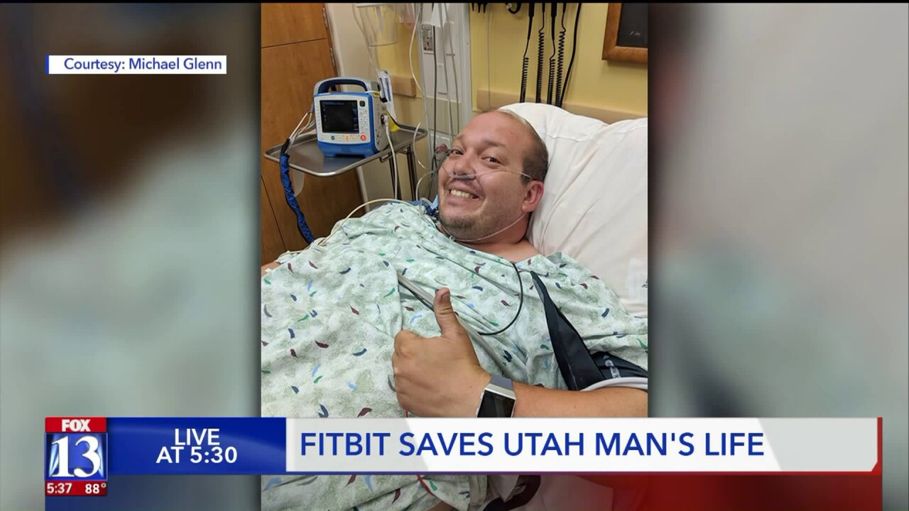 'I would have gone into complete heart failure,' Utah man says smart watch saved hislife
