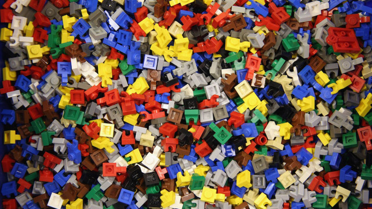 Child accidentally knocks over $15K LEGO exhibit