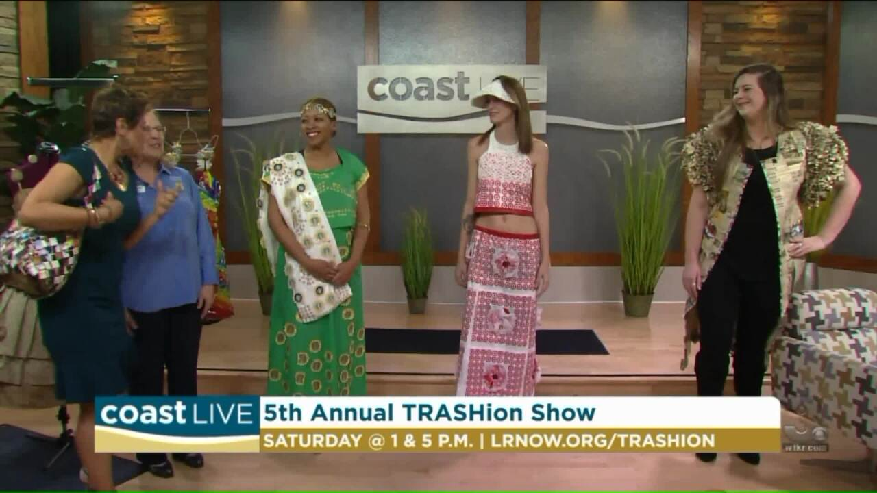 We get a look at Garbage Glam in a preview the 2018 TRASHion Show on CoastLive