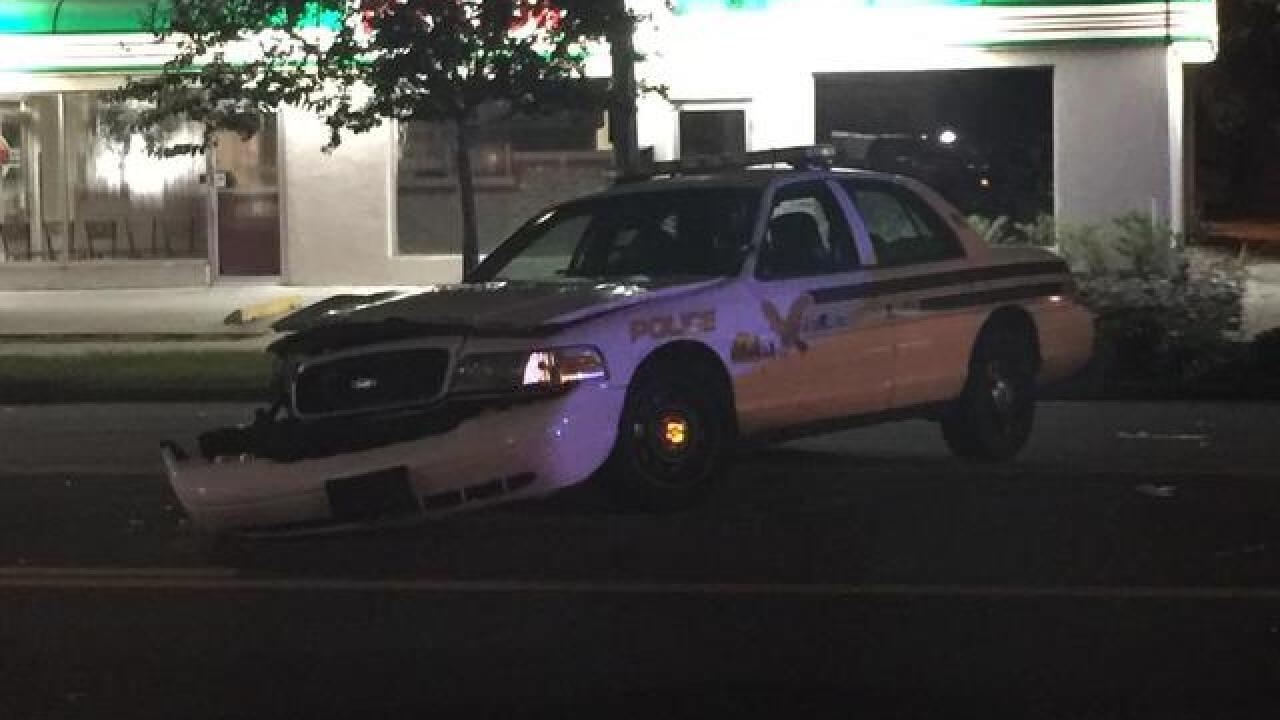 Officers at DUI crash hit by drunk driver