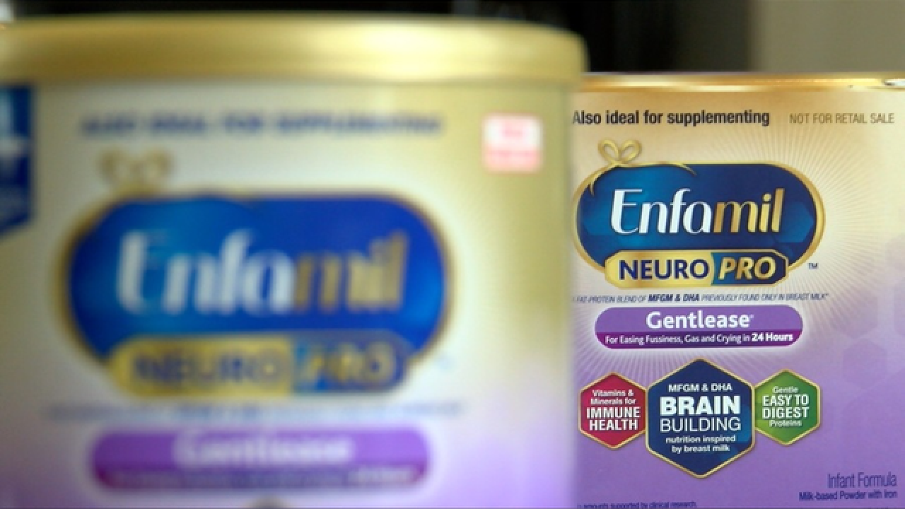 CVS pulls baby formula off shelves nationwide