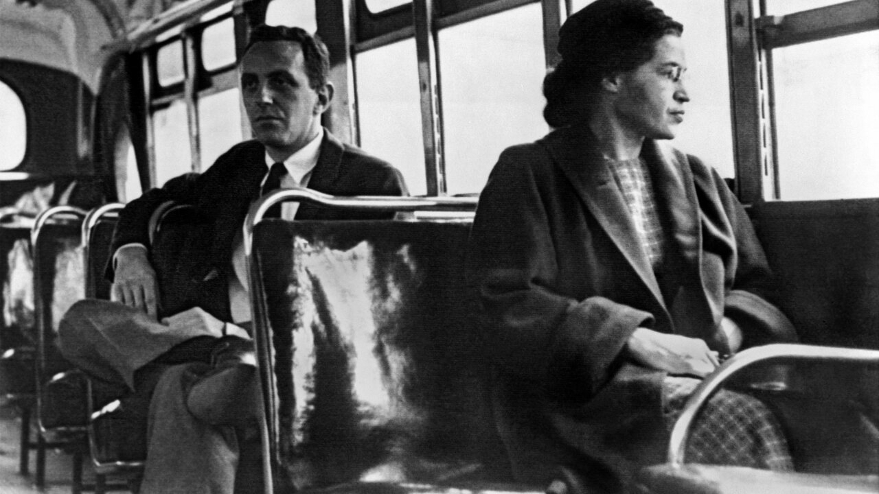 Rosa Parks honored with statue in Montgomery, Alabama