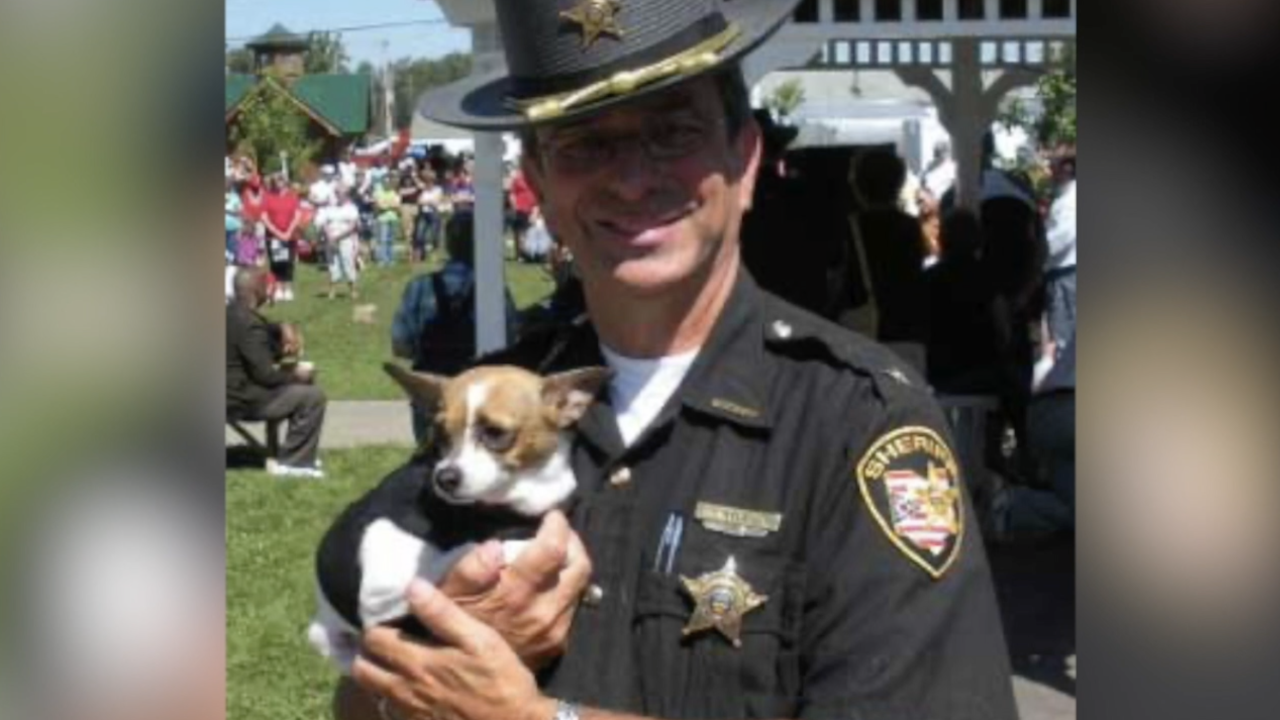 Wife of late Geauga County sheriff helps raise donations for new K9