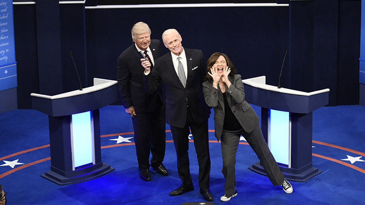 'Saturday Night Live' recreates debate in 46th season opener