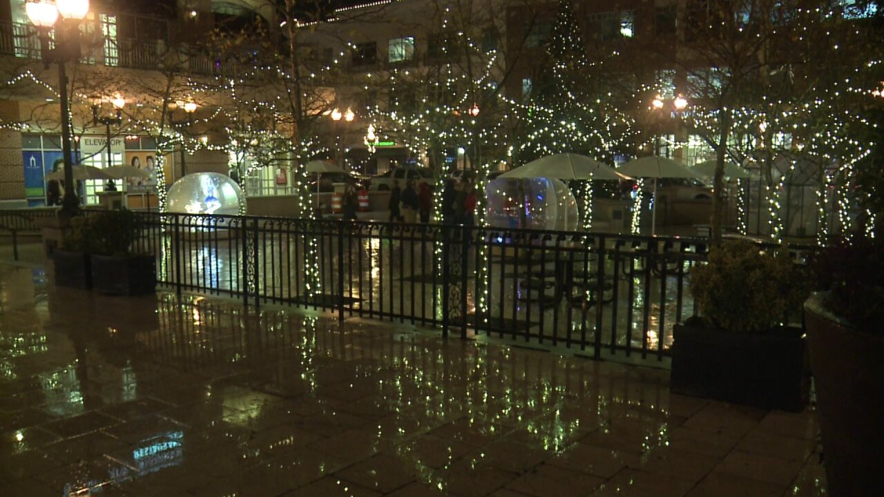 Wet weather puts a damper on holiday festivities throughout HamptonRoads