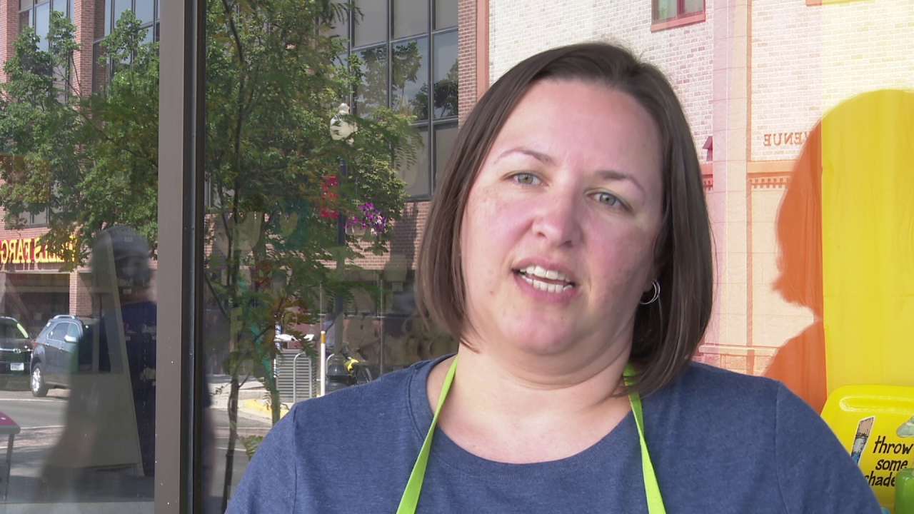 Brienna Harrington is the owner of the Painted Pot