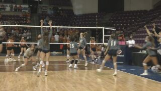 Palmer Ridge volleyball upsets Mead for program's first state title