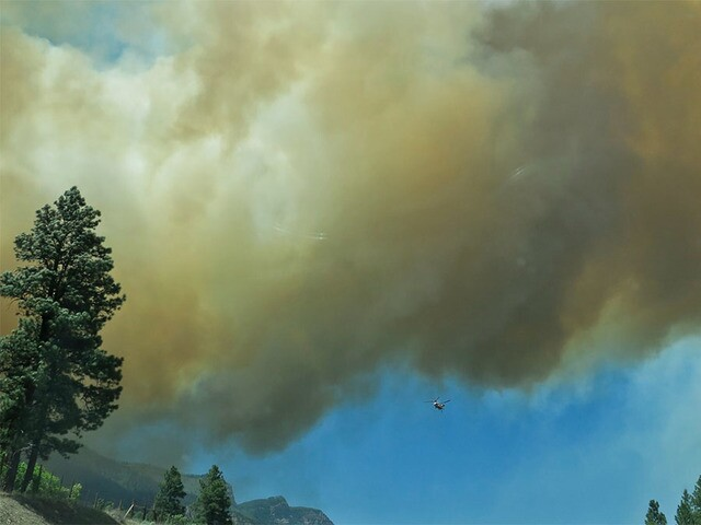 See photos from the 416 Fire burning north of Durango in La Plata County