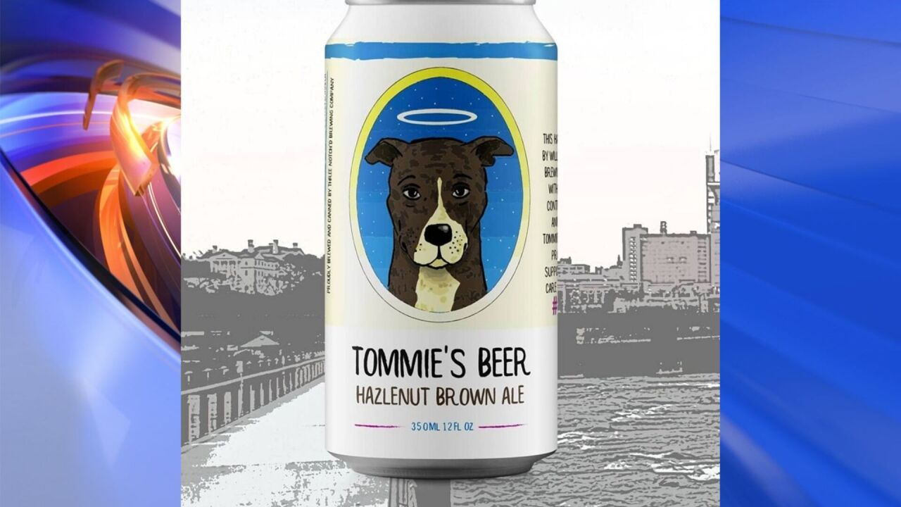 Brewery creates beer in honor of Tommie the dog to benefit Virginia shelter