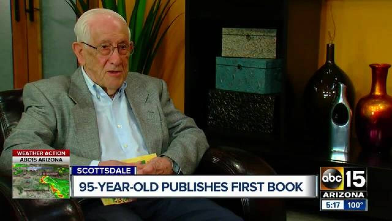Scottsdale man pens first book at 95-years-old