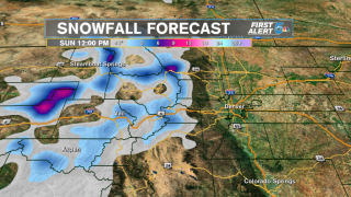 Late June snow? It's possible in the mountains this weekend
