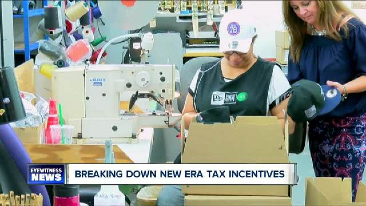 Town calls out New Era over years of tax break