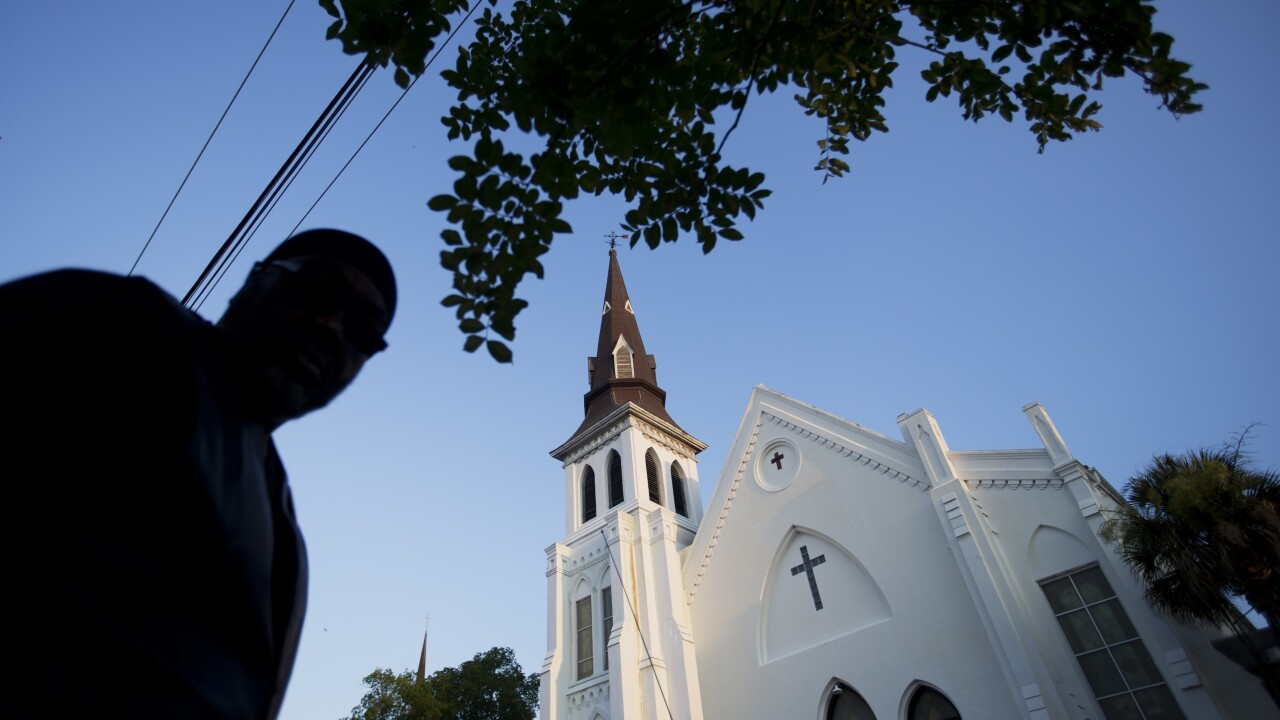 Wednesday marks 5 years since black worshippers were killed in Charleston church shooting