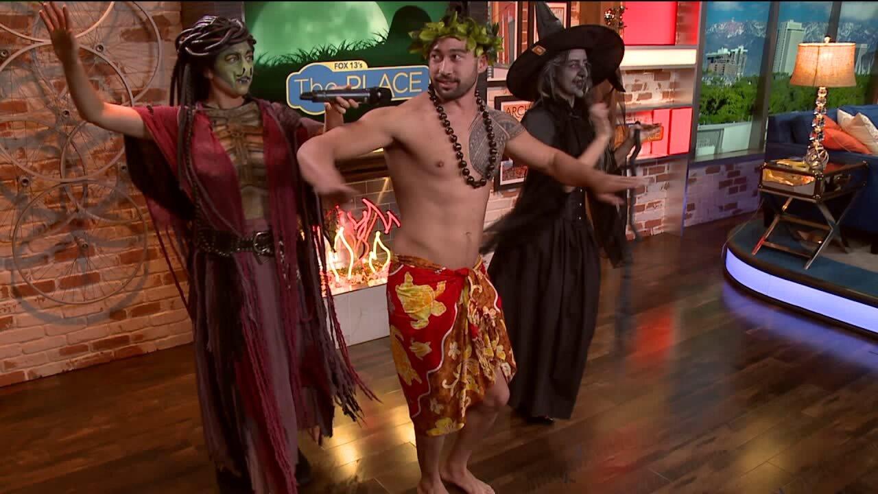 Budah, Amanda and Chelsie's HalloweenMakeup