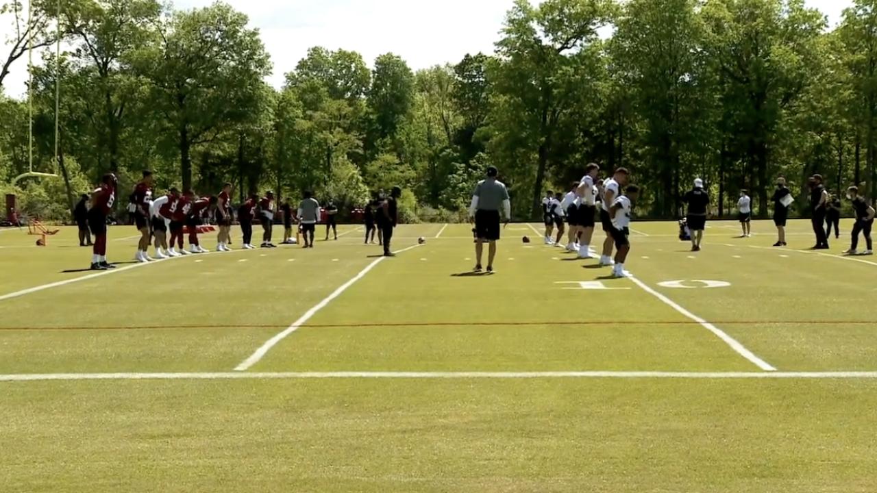 Washington Football Team rookie minicamp.png