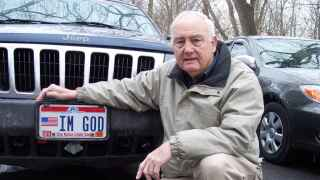 Court rules Kentucky man can have 'IM GOD' license plate, state must pay attorney fees