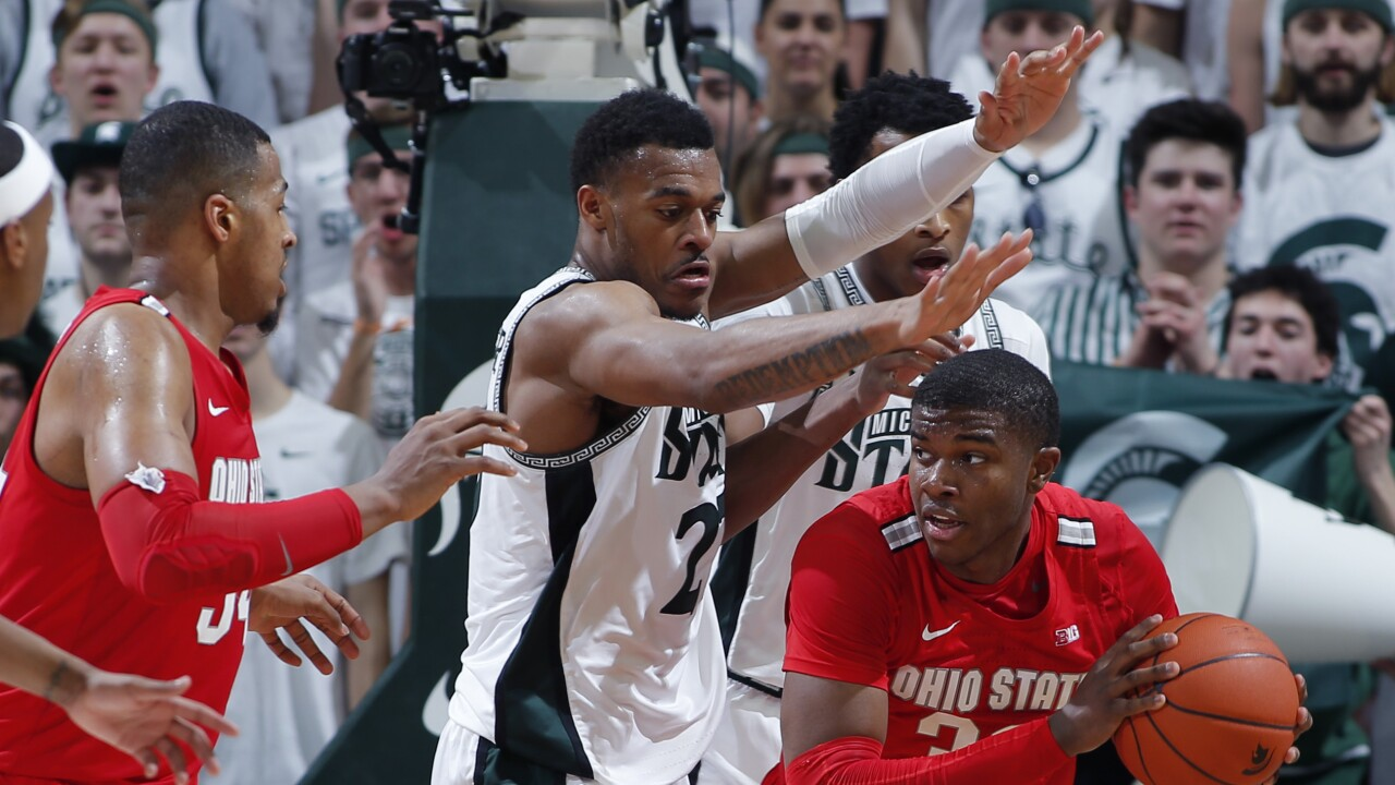 Ohio St Michigan St Basketball