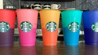 Starbucks Is Selling Reusable Cups That Change Colors When Filled With Drinks