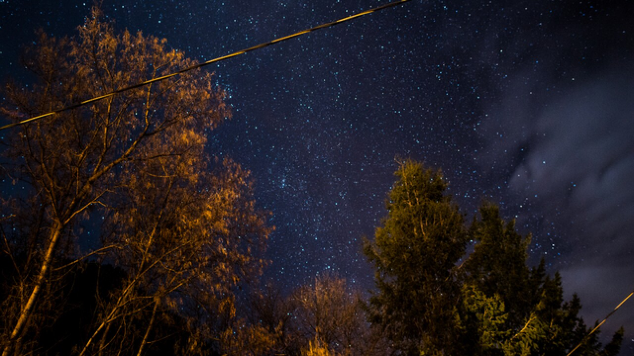 Photos of starry sky at CO's darkest places