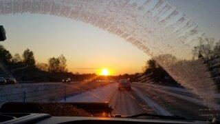 stormtracker snow sunrise