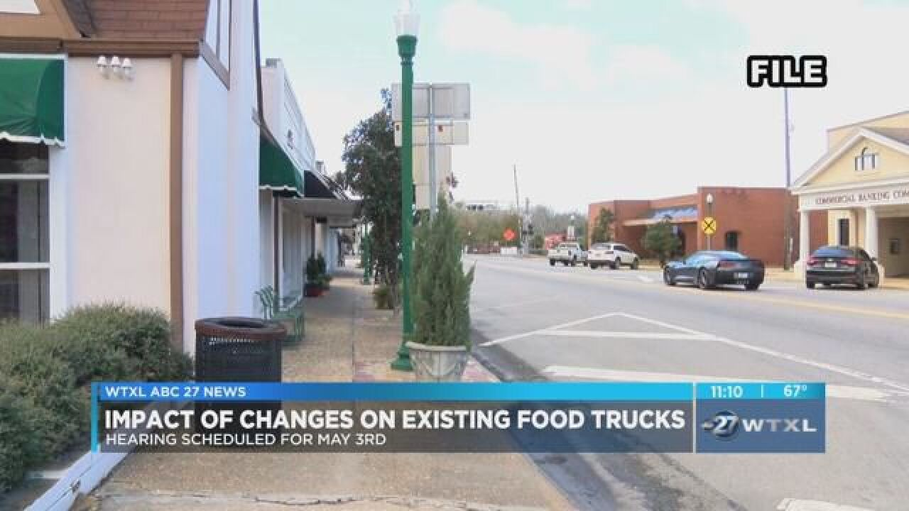 Hahira considers impact of regulation changes on food trucks