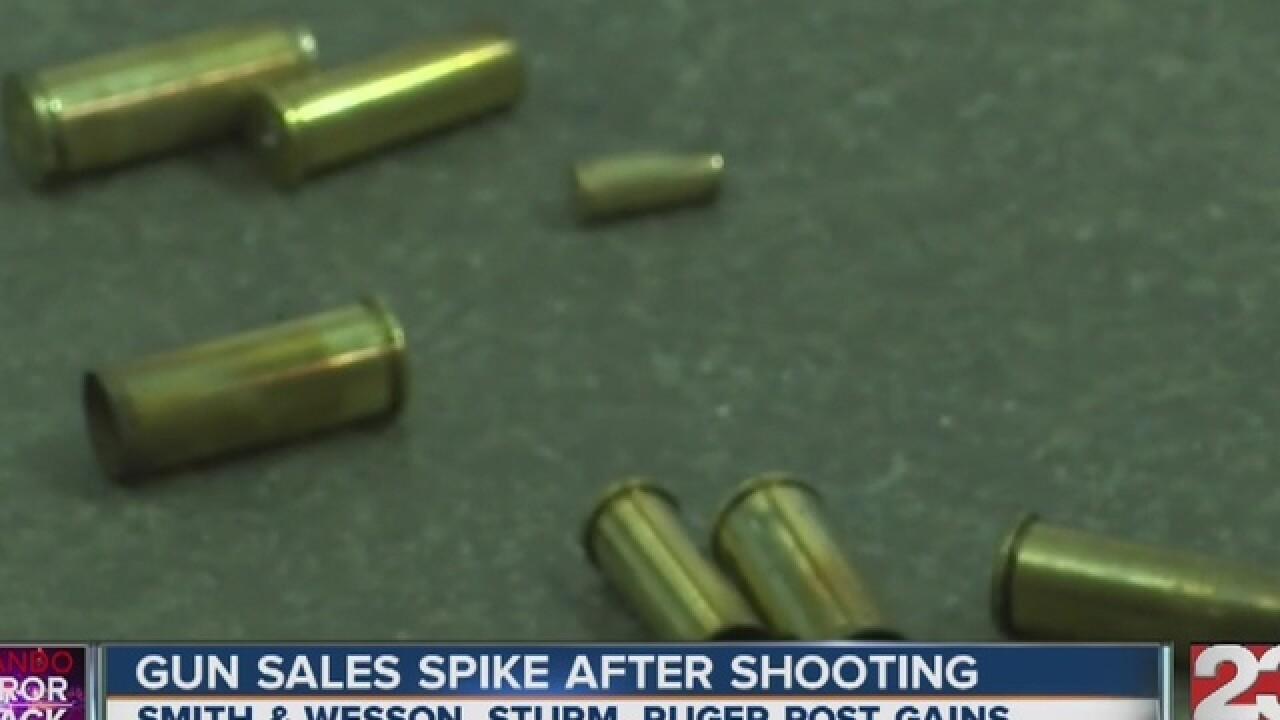 Gun sales rise day after Orlando shooting