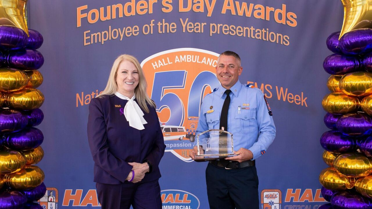 Hall Ambulance honors Employees of the Year during National EMS Week