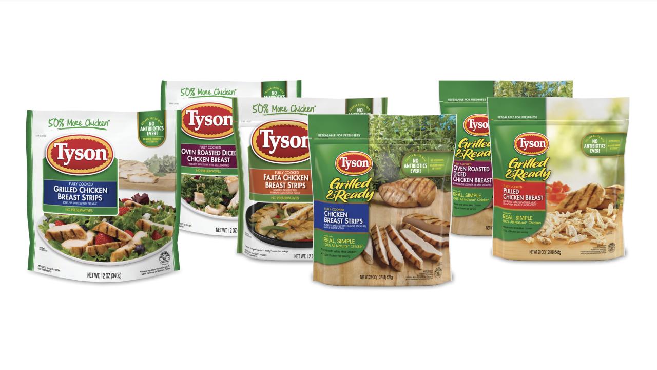Tyson Foods being recalled