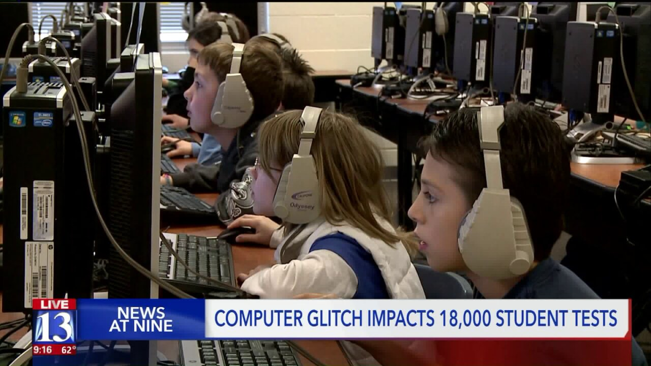 18,000 Utah students unable to finish standardized testing due to computer glitch