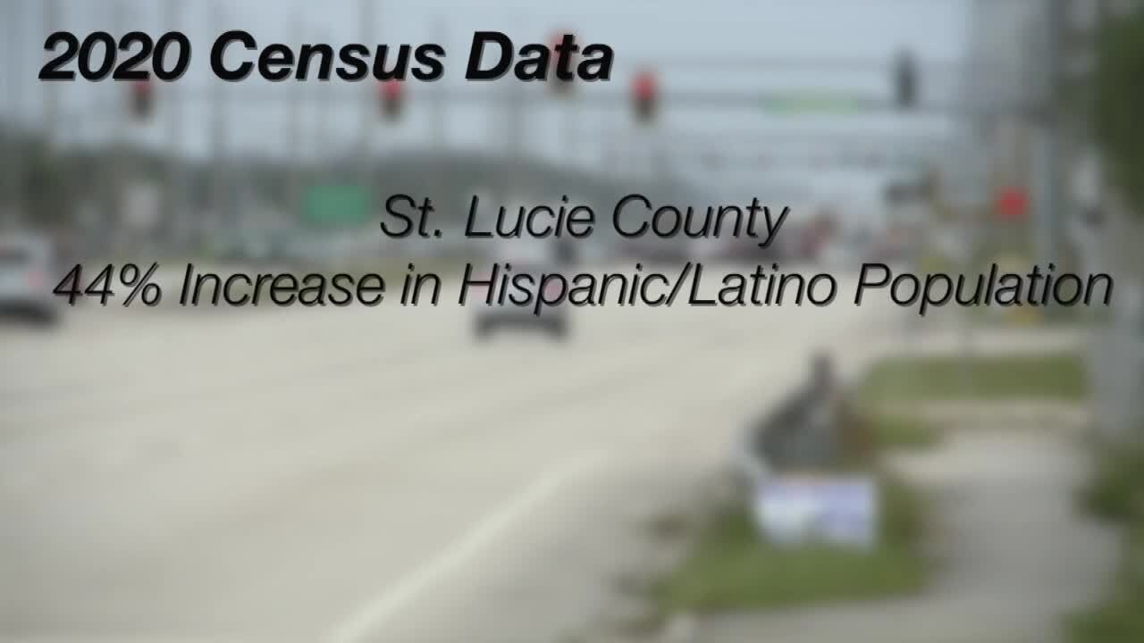 2020 Census Data 44% Increase in Hispanic/Latino Population in St. Lucie County