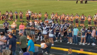 Cheerleaders Called Out Anti-mask Parents At A Football Game