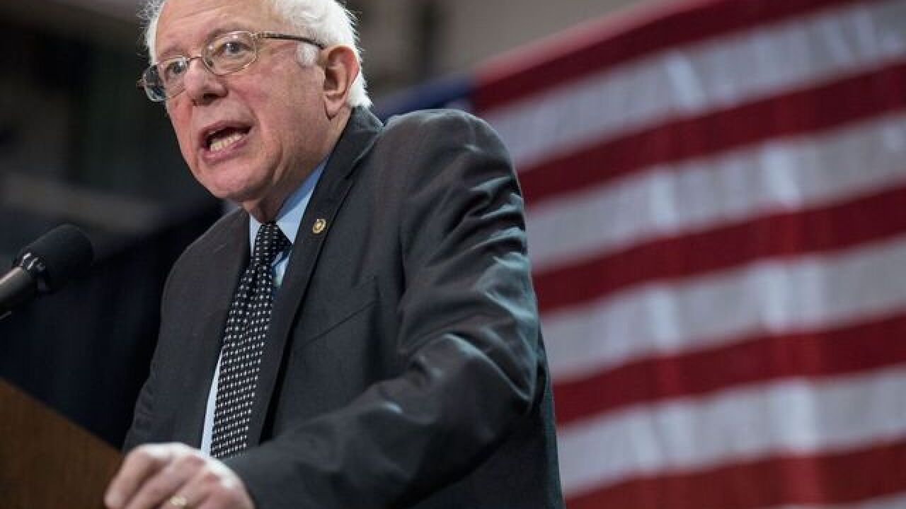 Sanders says he has a 'path toward victory'