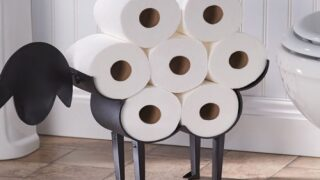 This Sheep Toilet Paper Holder Is The Bathroom Decor You Didn't Know You Needed In Your Life