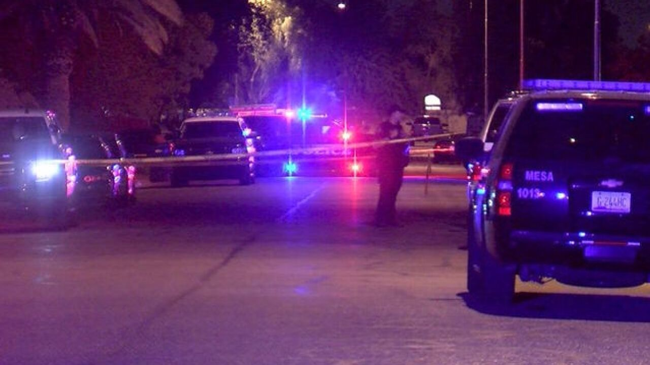PD: Man shot during argument in Mesa