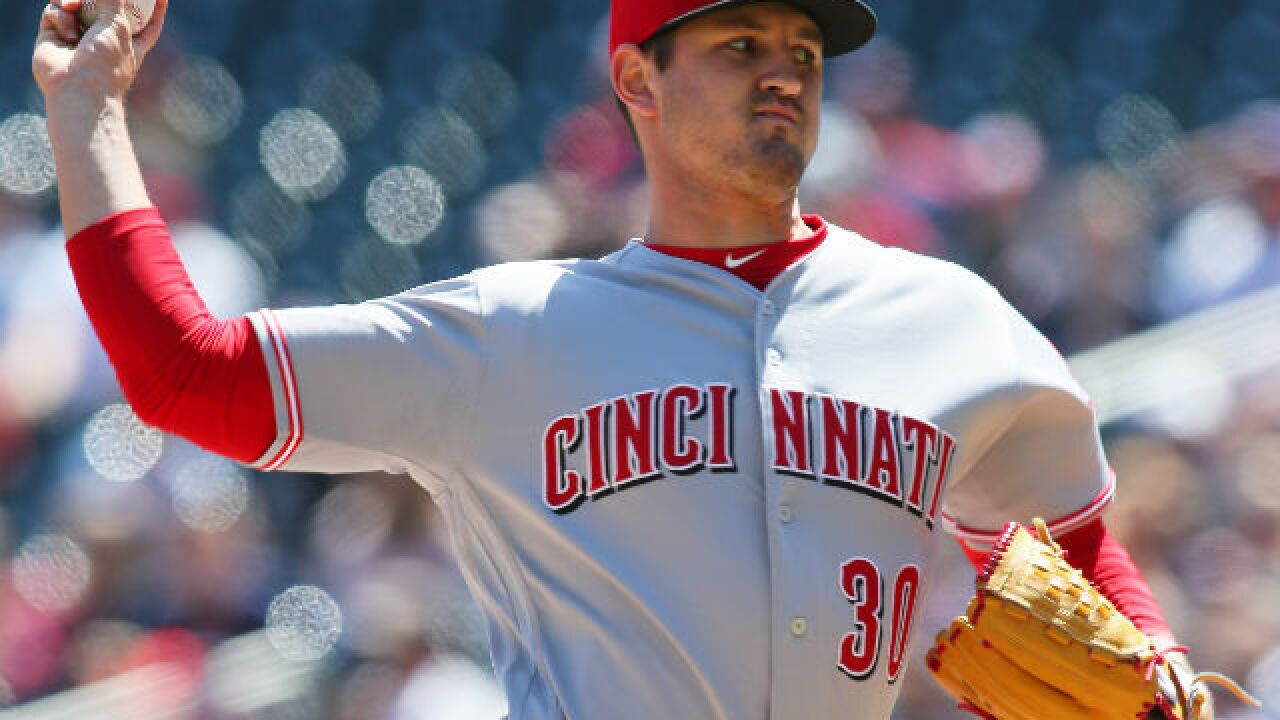Tyler Mahle has another strong outing in 8-2 win over Twins