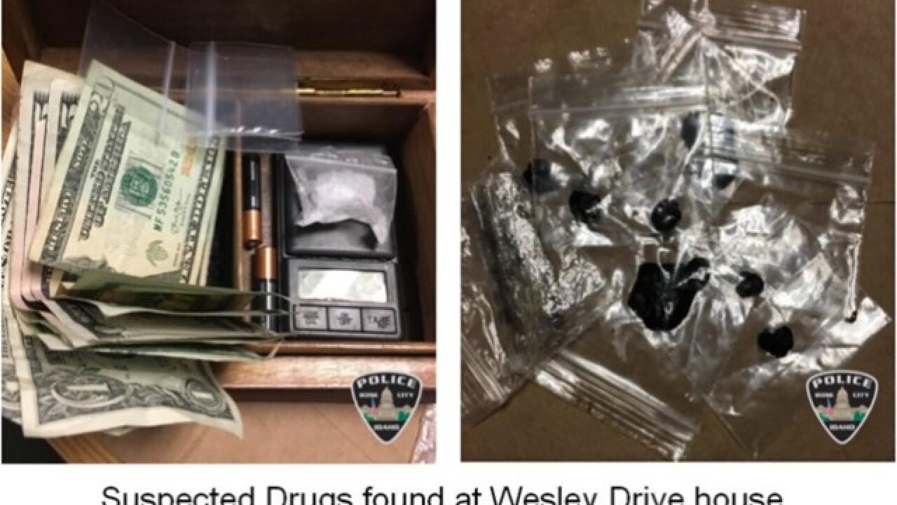 Four arrested in two Boise drug investigations