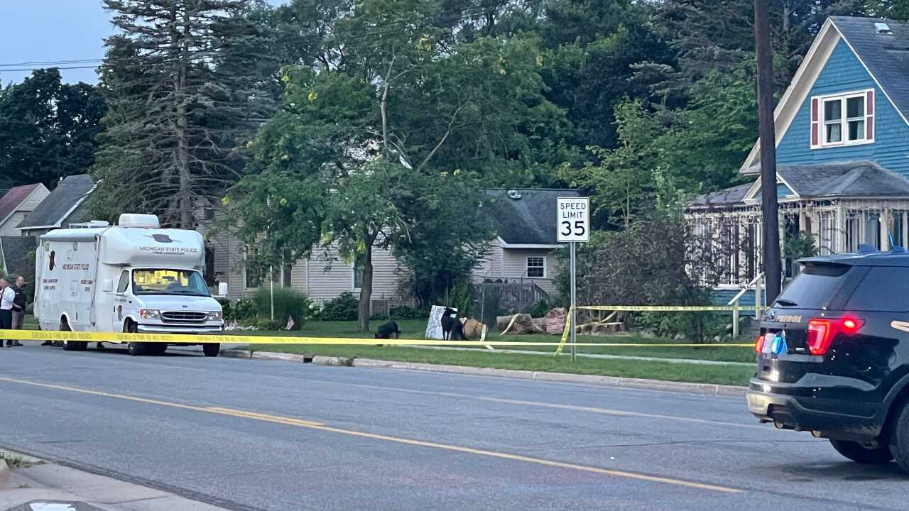 A suspect was shot and killed after stabbing a K-9 multiple times in Gobles 7/27/21