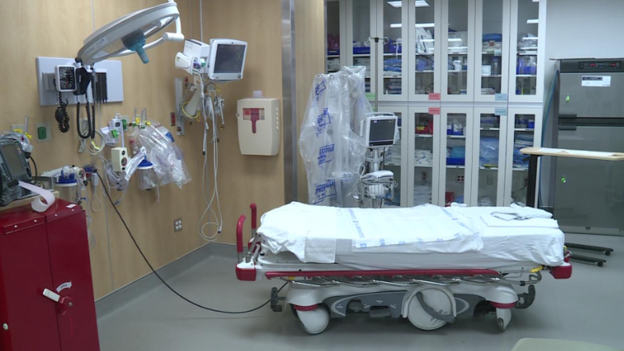 Chippenham Hospital earns provisional status as Level I traumacenter