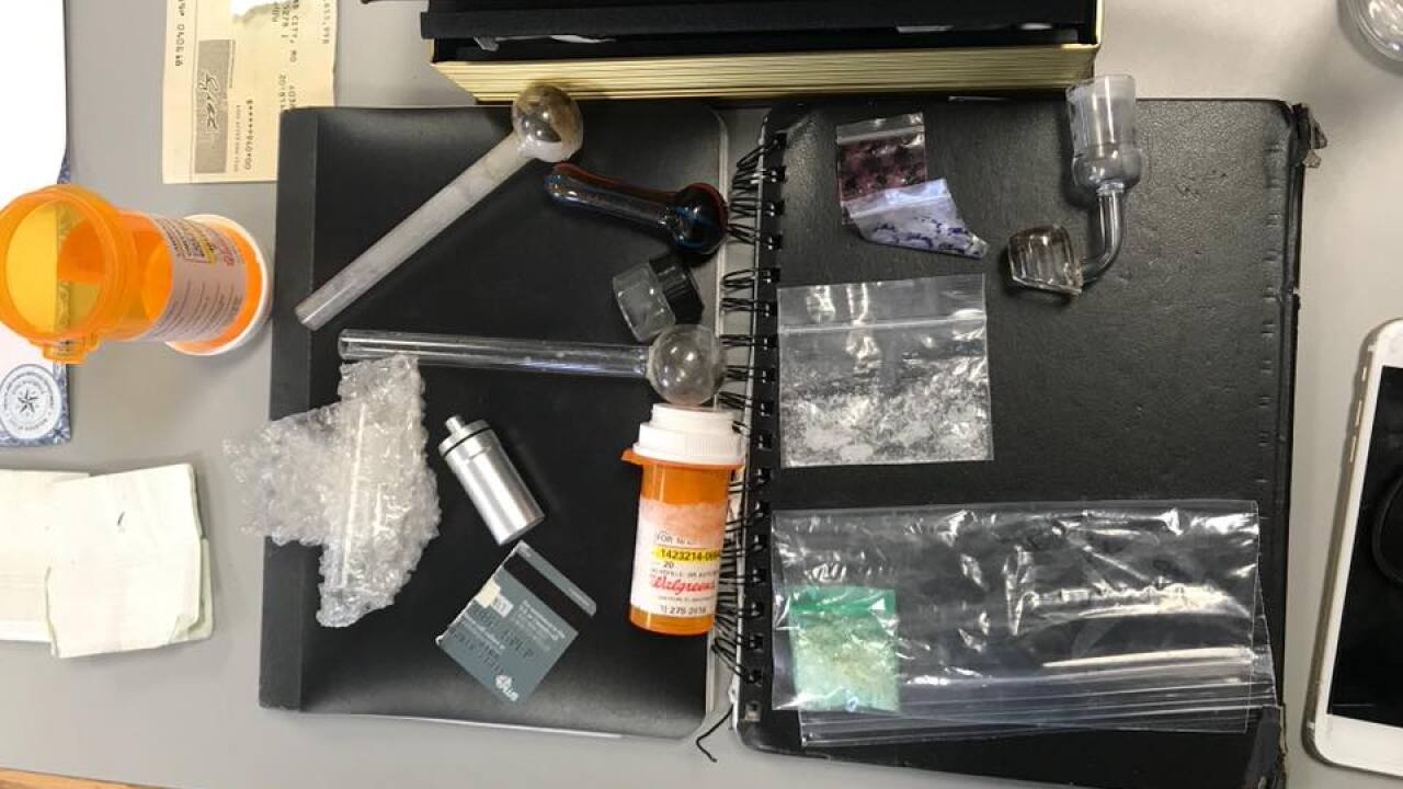 Sheriff's office: Two men arrested for possession of narcotics after traffic stop