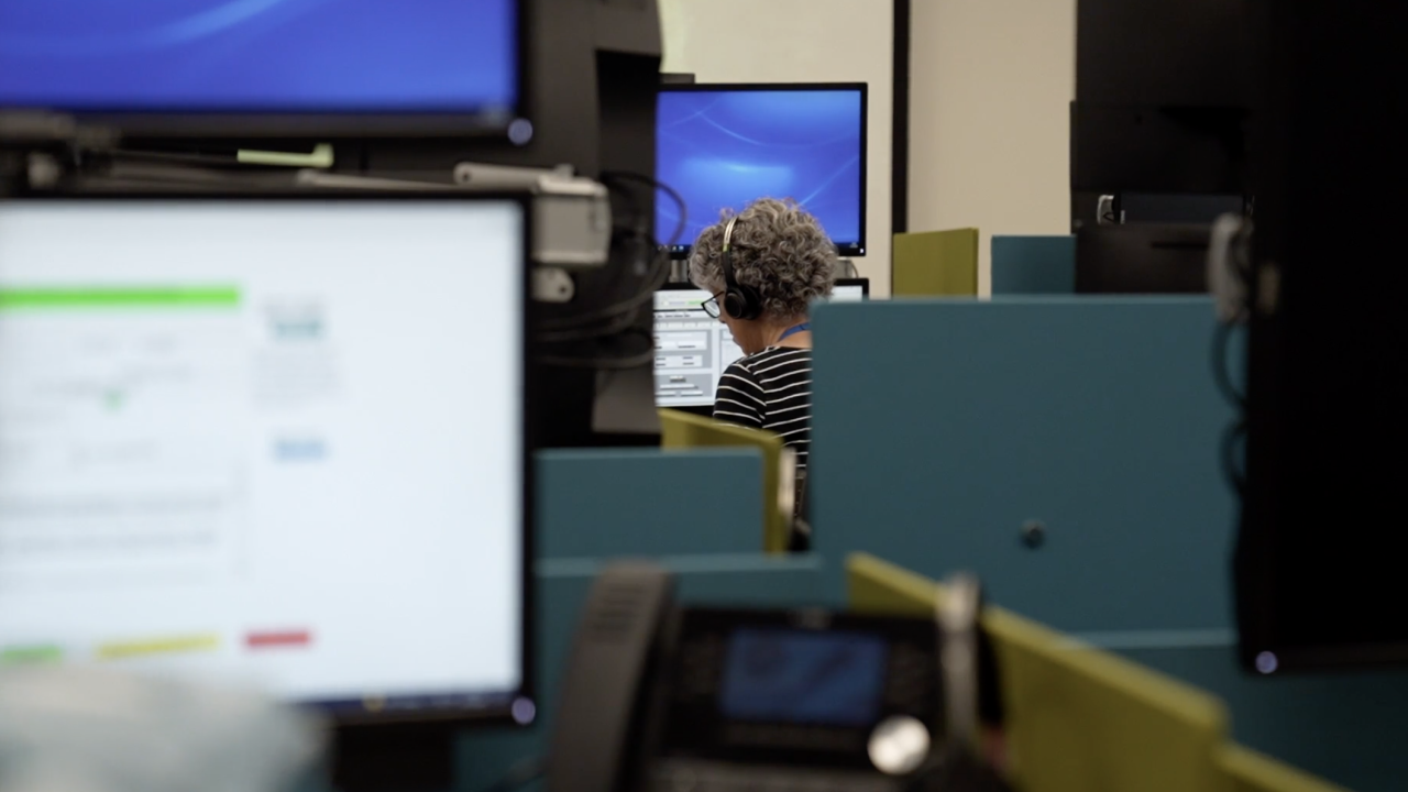 As of now, callers to the nationwide suicide prevention hotline need to dial a toll-free 800-number. At the call center in Greenville, South Carolina, calls come in from all over the state.