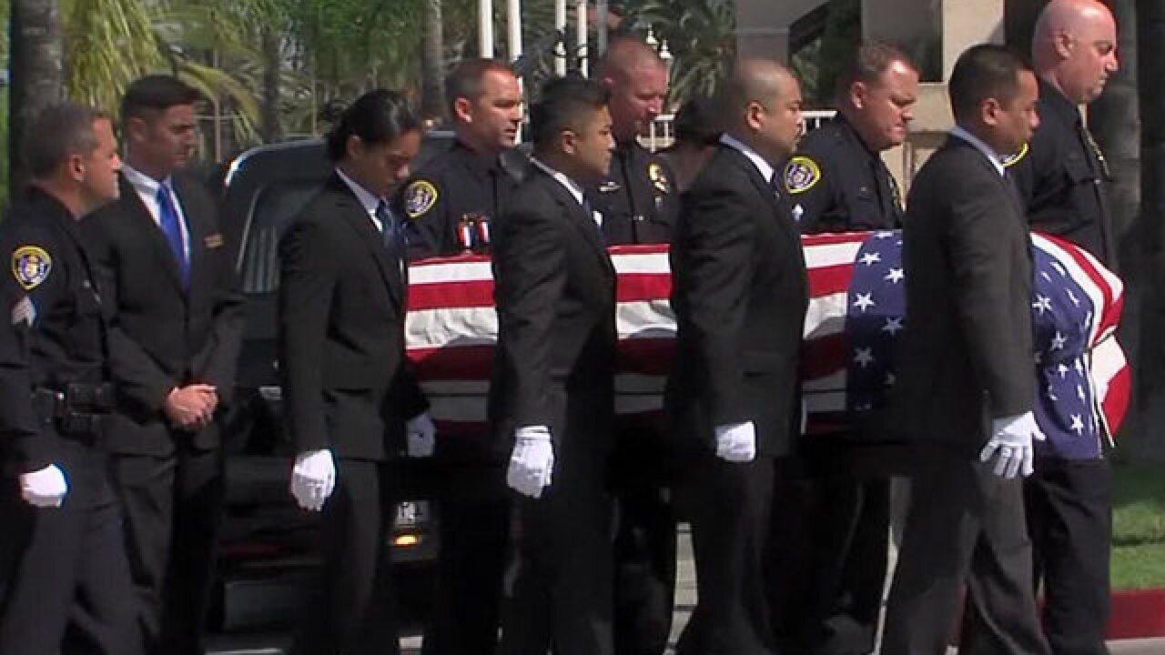 Memorial to honor life of fallen SDPD veteran